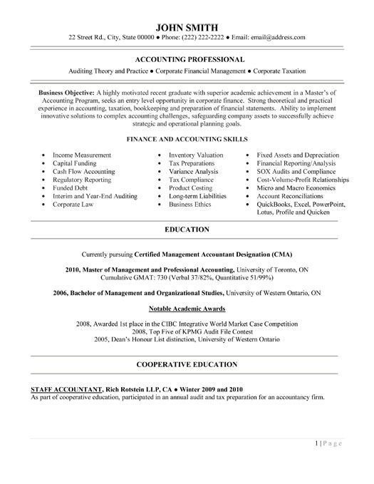 Entry Level Finance Resume 1000 Images About Best Auditor Resume Templates & Samples
