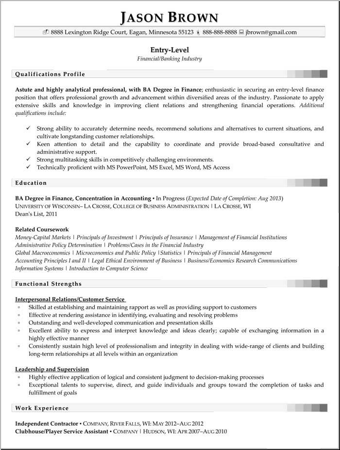 Entry Level Finance Resume View Pain Control Support for People with Cancer Health