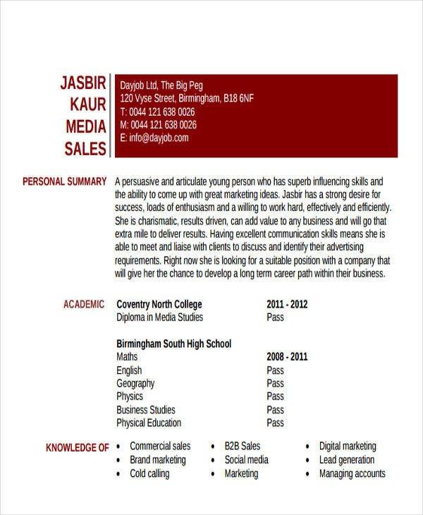 Entry Level Marketing Resume 48 Simple Marketing Resumes