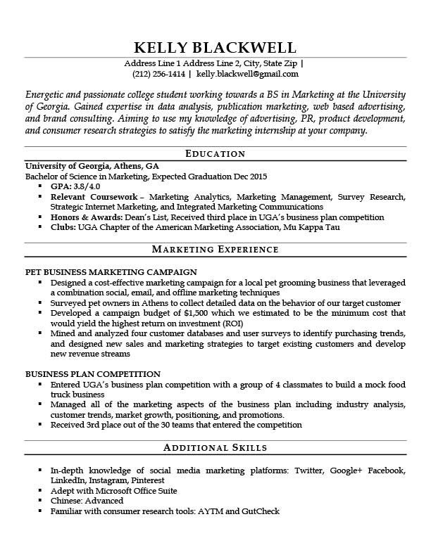 Entry Level Resume Template Career Level & Life Situation Templates