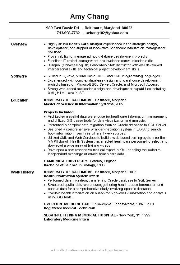 Entry Level Resume Template Entry Level Accounting Resume Summary Overview sofware