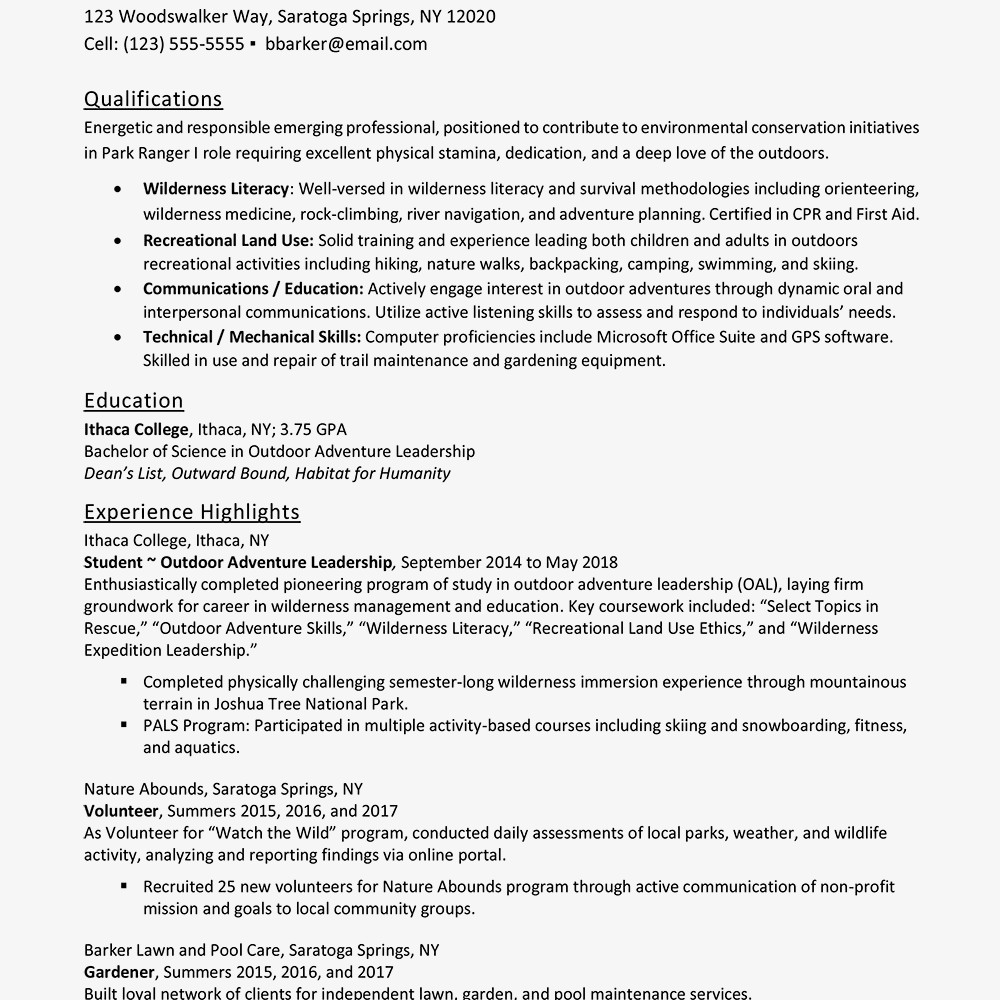Entry Level Resume Template Entry Level Resume Examples and Writing Tips