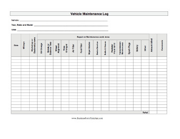 Equipment Maintenance Log Template Excel Truck Maintenance Log Free Download the Best Home