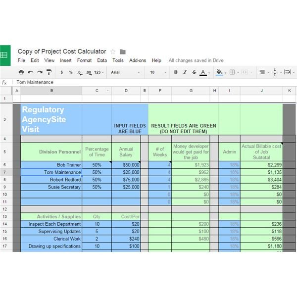 Estimate Template Google Docs 10 Great Google Docs Project Management Templates