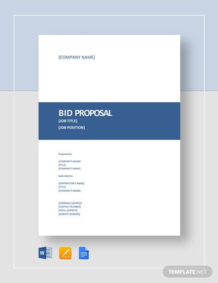 Estimate Template Google Docs 203 Proposal Templates In Google Docs [download now