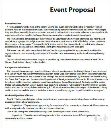 Event Planning Proposal Template 15 Printable event Proposal Templates Word Pdf Pages