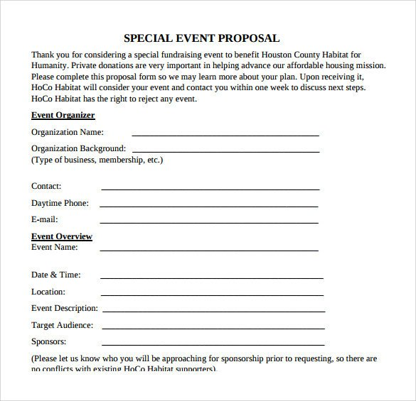 Event Planning Proposal Template 30 Sample event Proposal Templates Psd Pdf Word