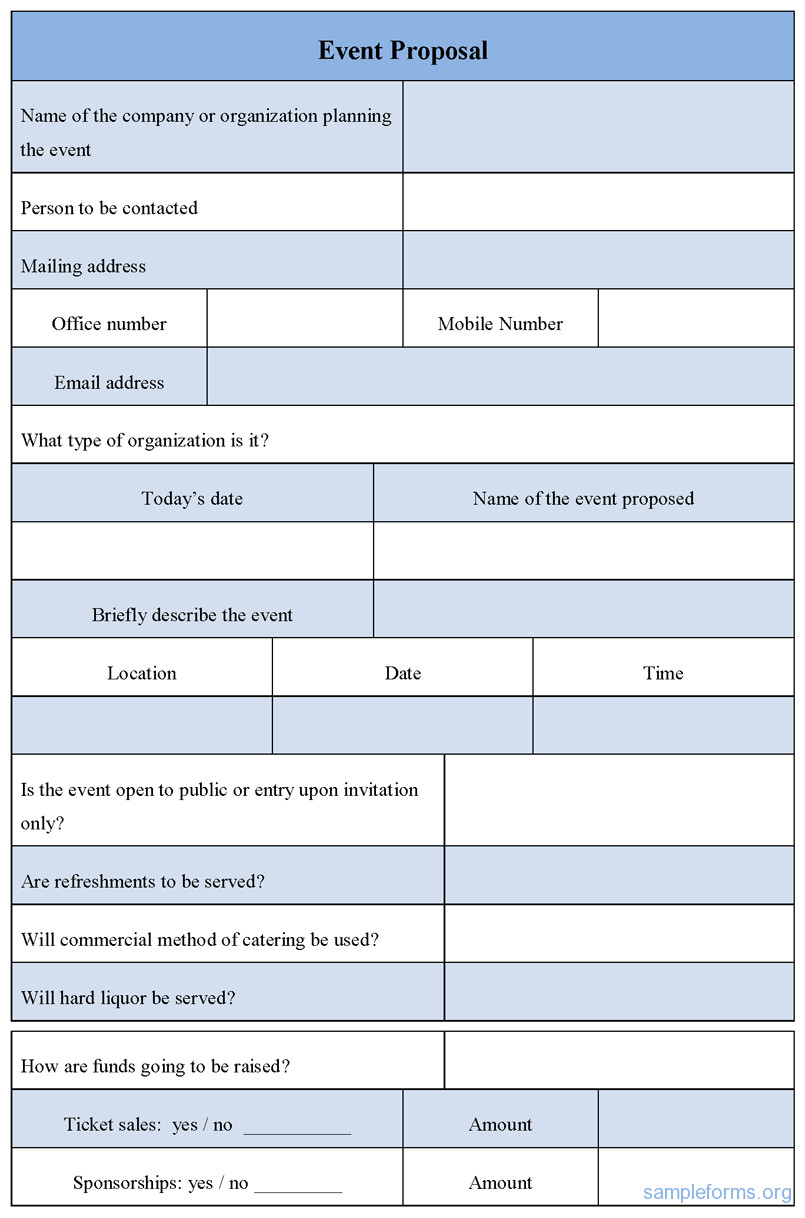 Event Planning Proposal Template Craft the Perfect event Proposal Template now