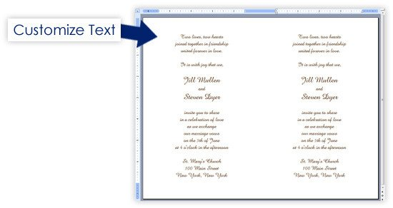 Event Program Template Word Creating A event Program In Word Developerstweet