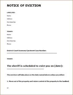 Eviction Notice Template Alabama Printable Sample Vehicle Bill Of Sale Template form