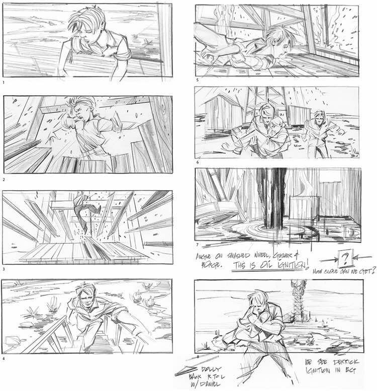 Example Of A Storyboard 23 Best Movie Storyboard Examples with Free Storyboard