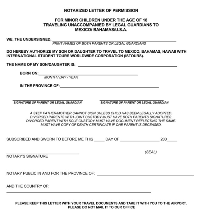 Example Of Notarized Letter 25 Notarized Letter Templates & Samples Writing Guidelines