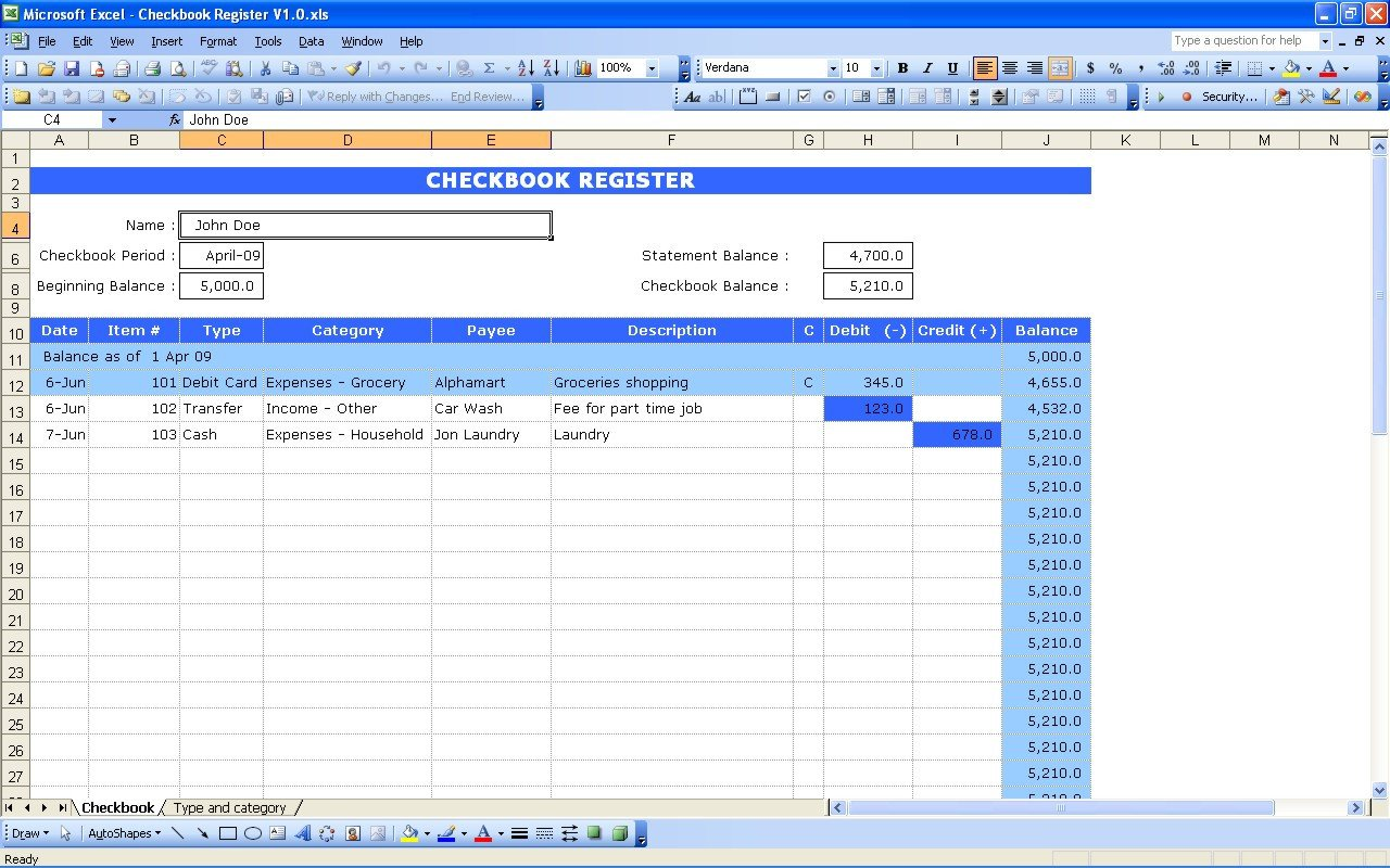 Excel Banking Spreadsheet Cost Of Goods sold Calculator [updated]