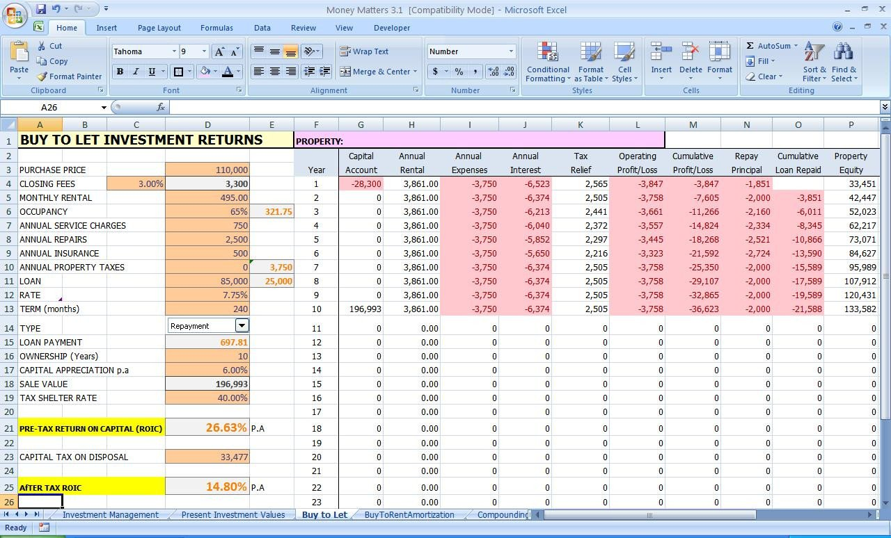 Excel Banking Spreadsheet Excel Improve Your Personal Finances