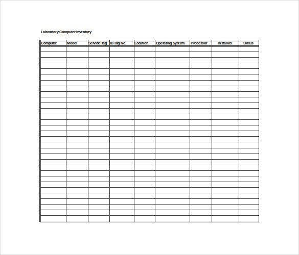 Excel Book Inventory Template Inventory Spreadsheet Template 5 Free Word Excel