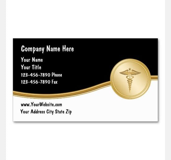 Excel Business Card Template 8 Free Business Card Templates Excel Pdf formats