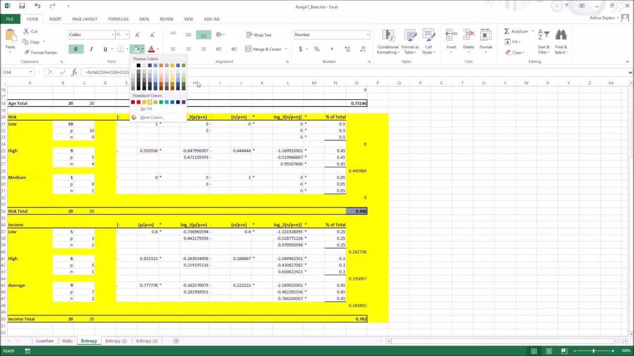 Excel Decision Tree Template Decision Tree In Excel