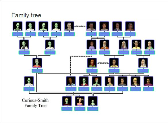 Excel Family Tree Templates Family Tree Template 11 Free Word Excel format