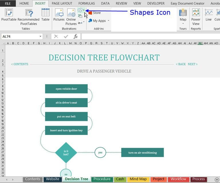 Excel Flow Chart Templates How to Find and Use Excel S Free Flowchart Templates