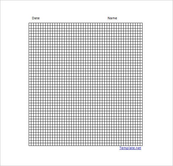 Excel Graph Paper Template 12 Graph Paper Templates Pdf Doc