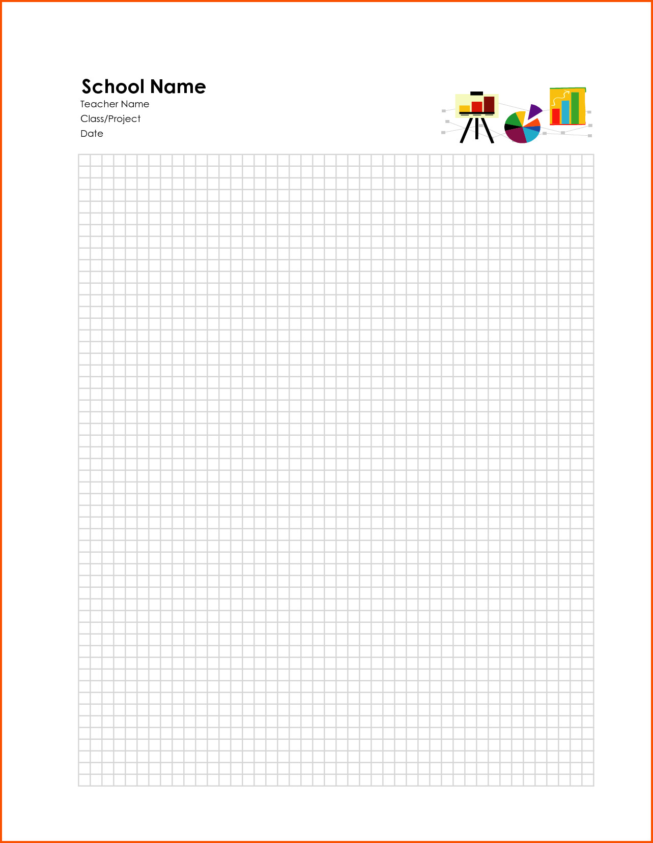 Excel Graph Paper Template 6 Excel Graph Paper