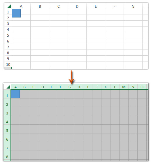 Excel Graph Paper Template How to Create Grid Paper Square Template In Excel
