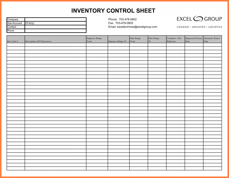 Excel Inventory Template with formulas 3 Inventory Tracking Spreadsheet Template