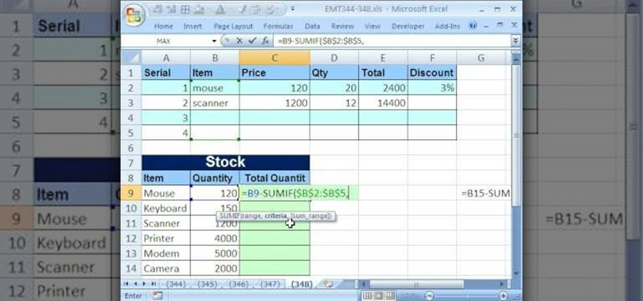 Excel Inventory Template with formulas How to Update Inventory Records by formula In Microsoft