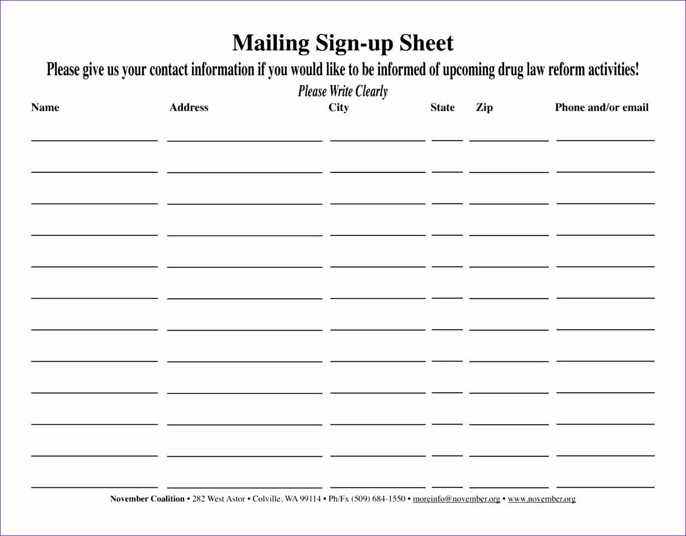 Excel Mailing List Template 7 Excel Mailing List Template Free Exceltemplates