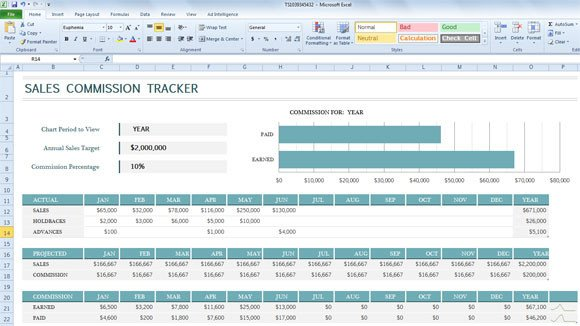 Excel Sales Tracking Template Sales Mission Tracker Template for Excel 2013