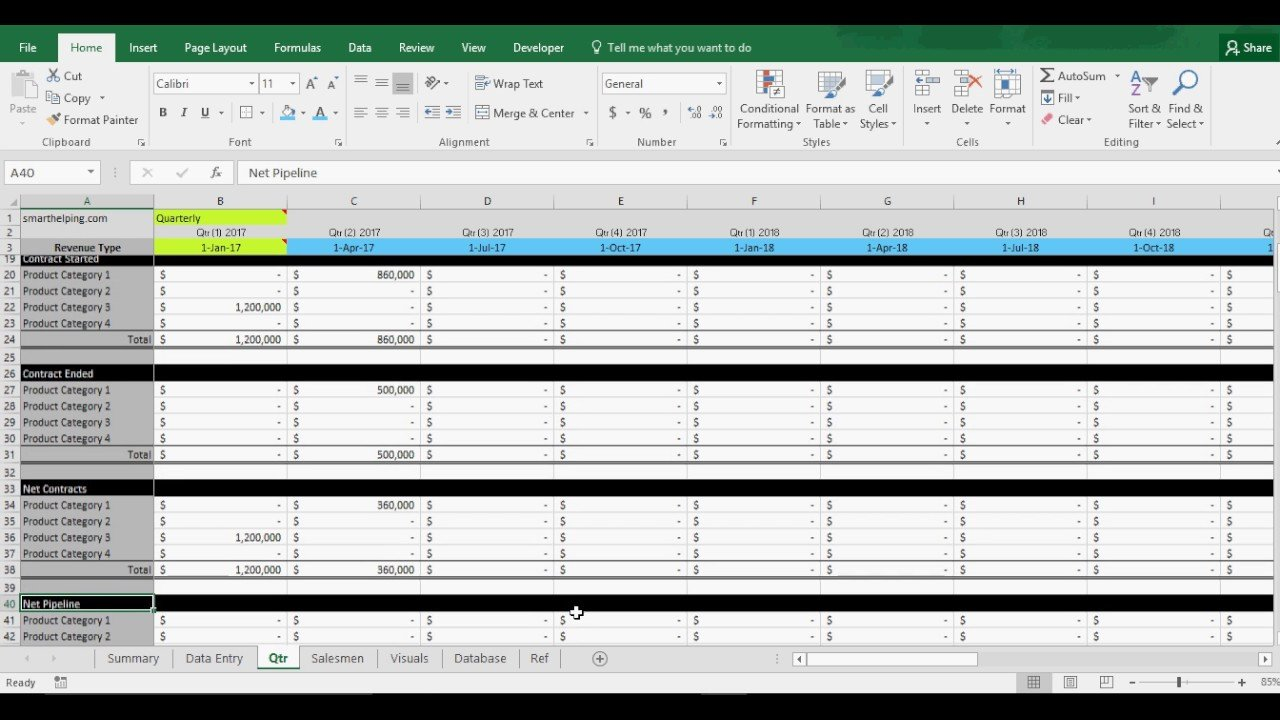 Excel Sales Tracking Template Sales Pipeline Tracking Template Crm In Excel