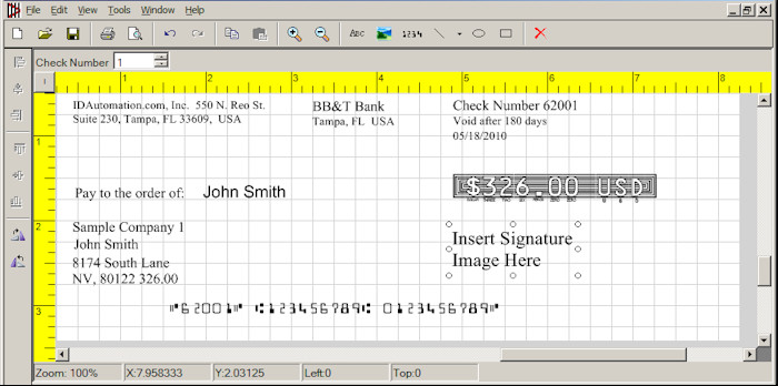 Excel Template Check Printing Free Download Excel Check Printing Template