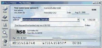 Excel Template Check Printing top 10 Free Check Printing software for Personal and