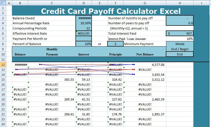 Excel Template Credit Card Payoff Get Sales Action Plan Template Xls Excel Xls Templates