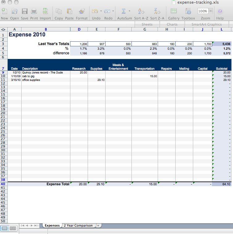 Expense Tracker Excel Template Daily Expense Tracker Spreadsheet Template Excel