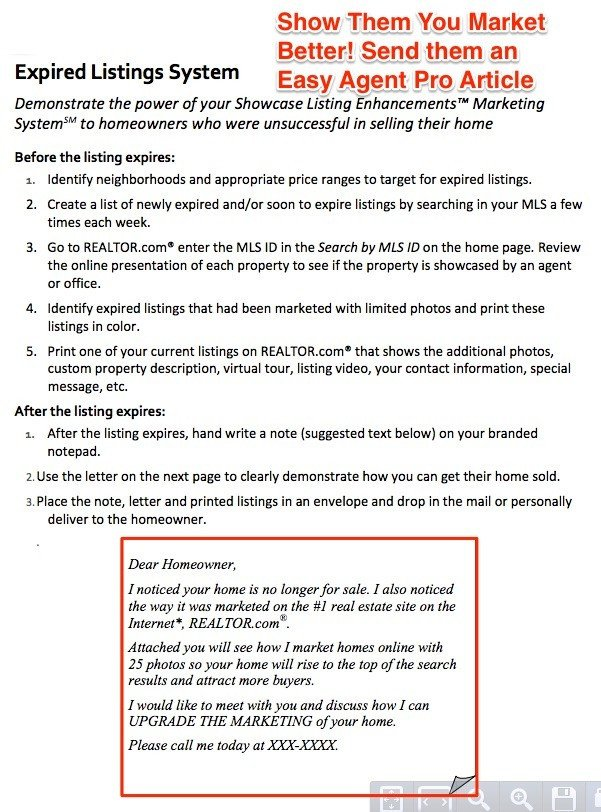 Expired Listing Letter Template the Best Expired Listing Letter Sample Templates to Use now