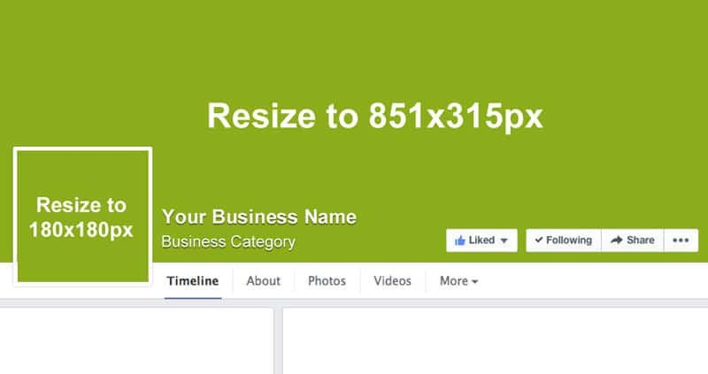Facebook Cover Page Template Free Page Template and 3 Big Changes You Need to