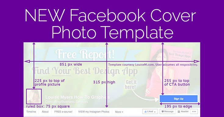 Facebook Cover Photoshop Template Cover 2015 Template It Changed Again