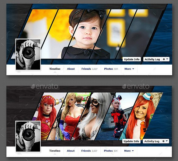 Facebook Cover Template Psd 8 Timeline Templates Psd