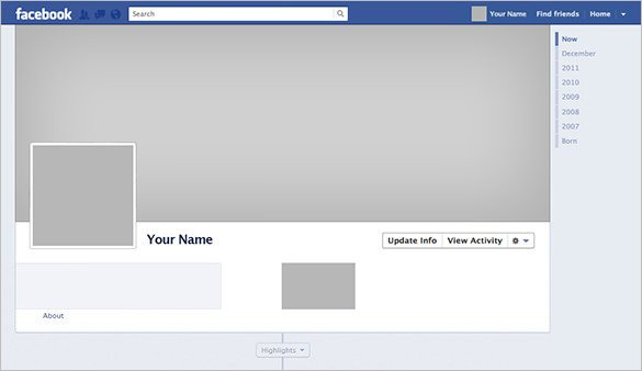 Facebook Cover Template Psd 9 Outstanding Psd Templates & Designs