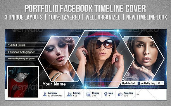 Facebook Cover Template Psd 9 Psd Timeline Cover Templates