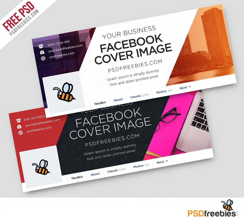 Facebook Cover Template Psd Corporate Covers Free Psd Template Psdfreebies