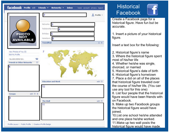 Facebook Template for Students 3 Awesome Templates for Your Class