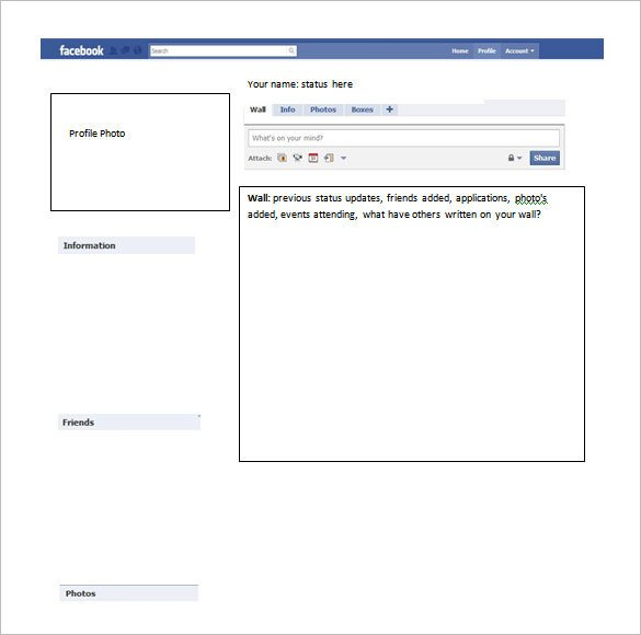 Facebook Template for Students Template – 49 Free Word Pdf Psd Ppt format