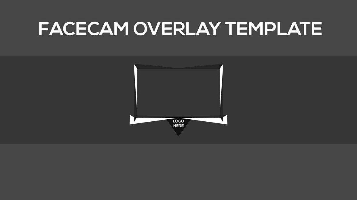 Facecam Overlay Template Facecam Overlay Template for