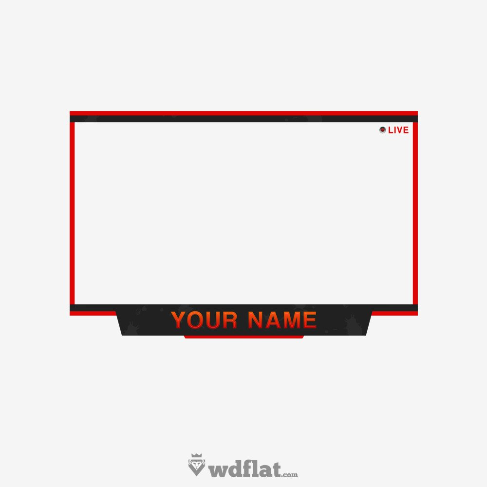 Facecam Overlay Template Liner