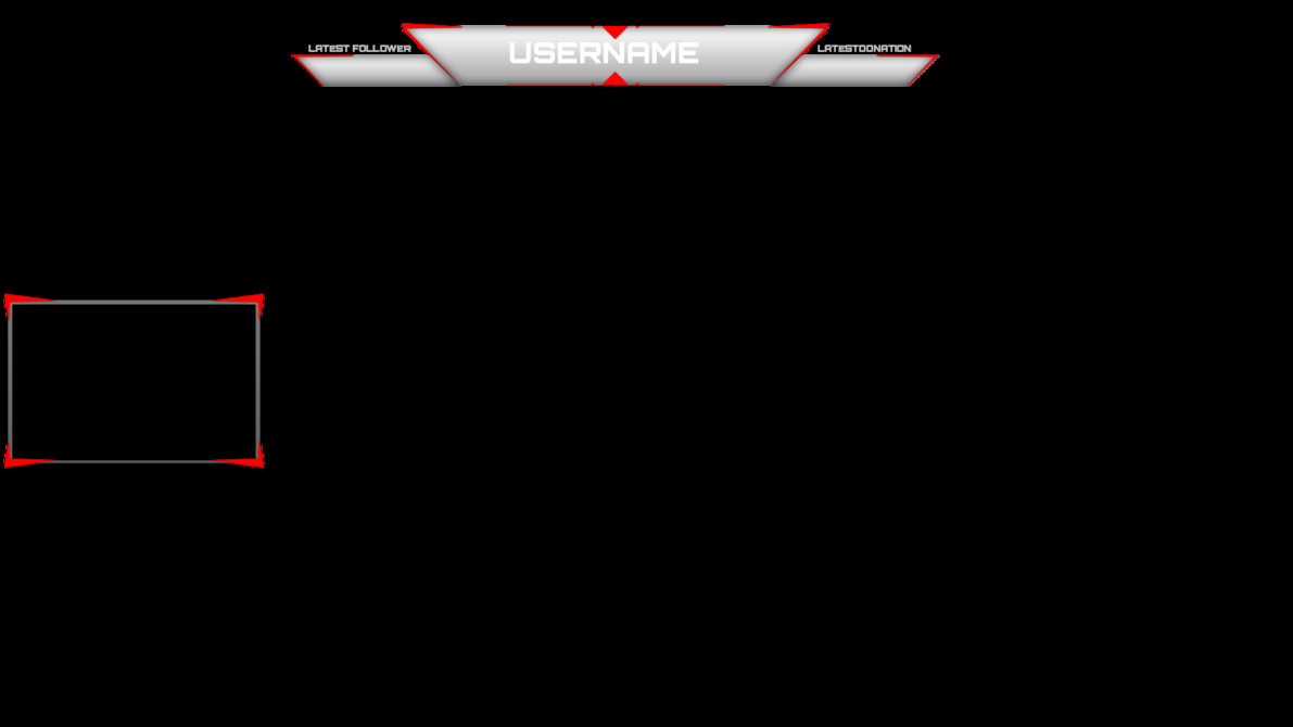 Facecam Overlay Template Twitch Simple Overlay by Jaegerpangaia On Deviantart