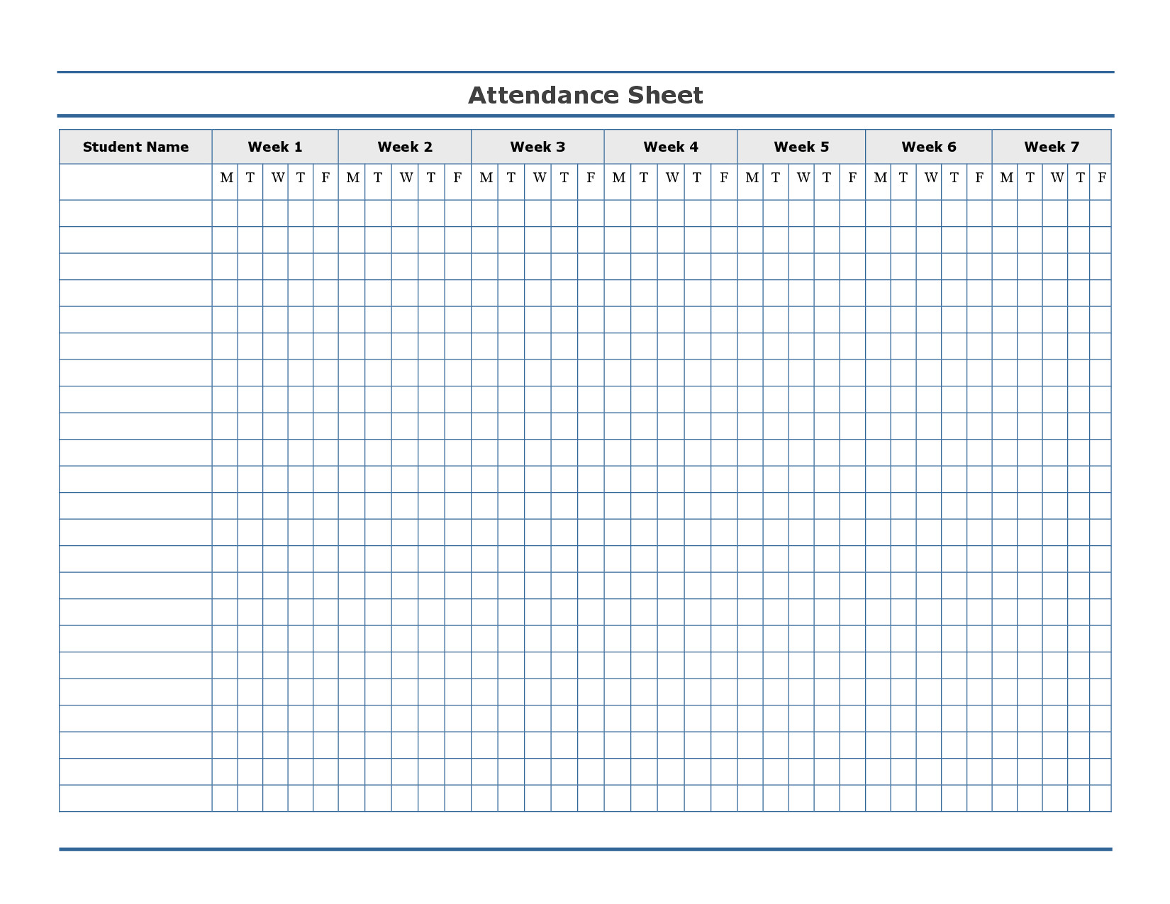 Fake Aa Signature Sheet Free Printable attendance Sheet Template …