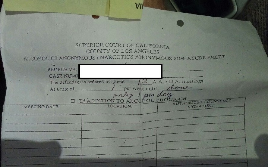 Fake Aa Signature Sheet Sentenced to Aa