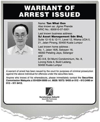 Fake Arrest Warrant Template Corporate Governance In Malaysia Warrant Of Arrest for